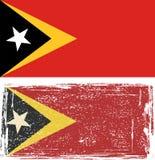 East Timor grunge flag. Vector illustration Stock Image