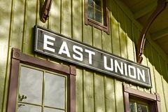 East Union Sign Royalty Free Stock Photo