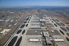 East Valley from Airport stock photo