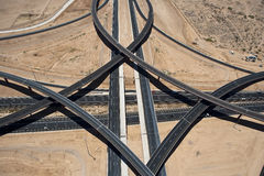 East Valley Interchange Royalty Free Stock Photography