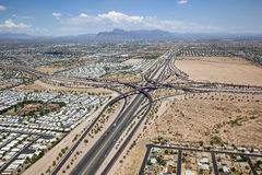 East Valley Interchange Royalty Free Stock Photos
