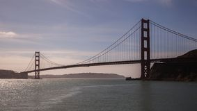 East view Golden Gate Bridge Royalty Free Stock Image