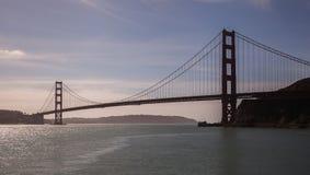 East view Golden Gate Bridge Royalty Free Stock Image