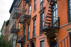 East Village Apartments, New York Stock Photography