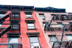 East Village Apartments, New York Royalty Free Stock Photos