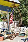 East virginia usa nautical market rusty cage Royalty Free Stock Photography