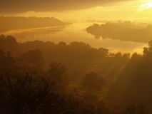 East of the Vistula River. Royalty Free Stock Photography