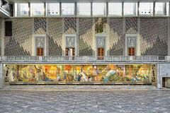 East wall of Main Hall in Oslo City Hall, Norway Royalty Free Stock Photos