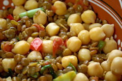 East West Lentil Stew Royalty Free Stock Images
