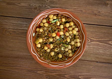 East West Lentil Stew Stock Images