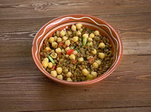 East West Lentil Stew Royalty Free Stock Photo