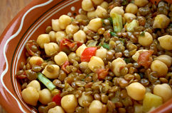East West Lentil Stew Royalty Free Stock Photography