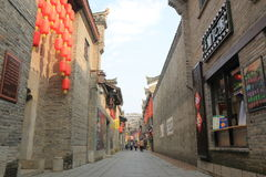 East West street historical architecture Guilin China Royalty Free Stock Images