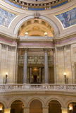 East Wing Arches. Interior of Minnesota State Capitol at East Wing showing State Supreme Court entrance stock images