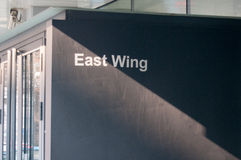 East wing Stock Photo