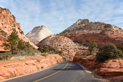 East Zion Canyon Stock Photography