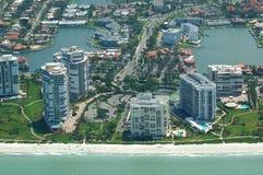 Eastate réel côtier de la Floride Images libres de droits