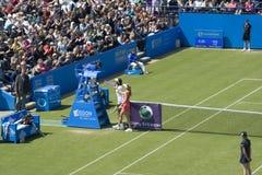Eastbourne 2011 Quarter-finals Royalty Free Stock Photos