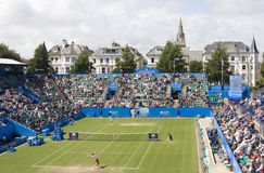Eastbourne 2011 Quarter-finals Royalty Free Stock Image
