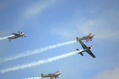 Eastbourne Airshow 2016 Großbritannien Lizenzfreie Stockfotografie