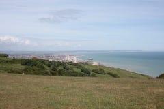 Eastbourne-Ansicht Lizenzfreies Stockbild
