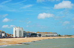 Eastbourne beach England Royalty Free Stock Images