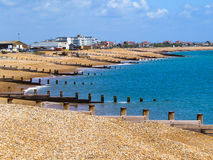 Eastbourne beach Royalty Free Stock Photos