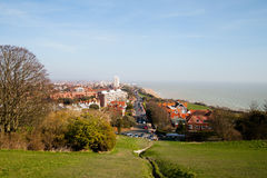 Eastbourne city, England. Royalty Free Stock Images