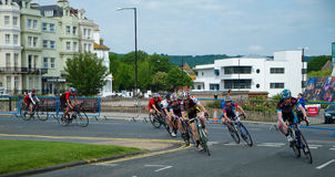 Eastbourne Cycling Festival 2014 Royalty Free Stock Image