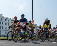 Eastbourne Cycling Festival 2016 Stock Photo