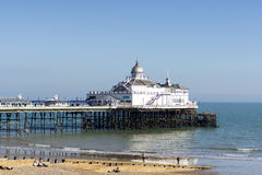 EASTBOURNE, EAST SUSSEX/UK - FEBRUARY 15 : View of Eastbourne Pi Royalty Free Stock Images