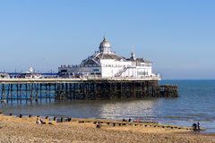 EASTBOURNE, EAST SUSSEX/UK - FEBRUARY 15 : View of Eastbourne Pi Stock Photo