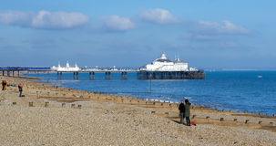 EASTBOURNE, EAST SUSSEX/UK - FEBRUARY 15 : View of Eastbourne Pi Stock Image