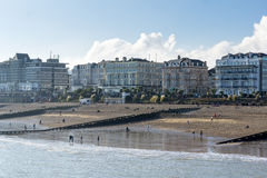 EASTBOURNE, EAST SUSSEX/UK - FEBRUARY 15 : View of various Hotel Royalty Free Stock Photography