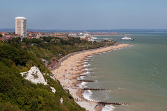 EASTBOURNE, EAST SUSSEX/UK - JUNE 3 : View of the promenade at E Royalty Free Stock Photos