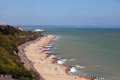 EASTBOURNE, EAST SUSSEX/UK - JUNE 3 : View of the promenade at E stock image