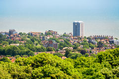 Eastbourne. East Sussex, United Kingdom. English seaside town of Eastbourne. East Sussex, Great Britain, UK stock image
