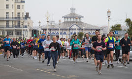 Eastbourne Half Marathon Royalty Free Stock Photos