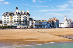 Eastbourne le Sussex est Images libres de droits
