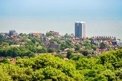 Eastbourne Le Sussex est, Royaume-Uni Image stock