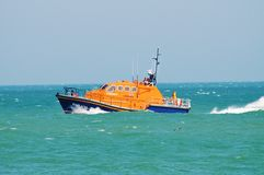 Eastbourne lifeboat Royalty Free Stock Image