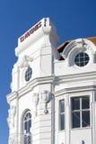 EASTBOURNE, OST-SUSSEX/UK - 15. FEBRUAR: Ansicht von Hughes Depart Lizenzfreies Stockfoto