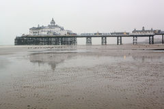 Eastbourne pier. At early morning Royalty Free Stock Images
