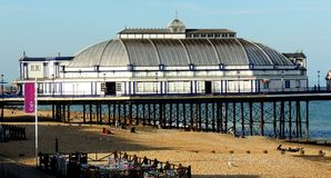 Eastbourne Pier. Before the fire. East Sussex Stock Images