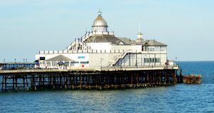 Eastbourne Pier. Before the fire. East Sussex Royalty Free Stock Images