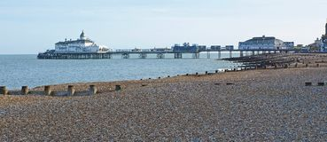 Eastbourne Pier. Before the fire. East Sussex Stock Image