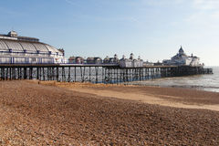 Eastbourne pier, England. Royalty Free Stock Image
