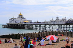 Eastbourne Pier England Stock Images