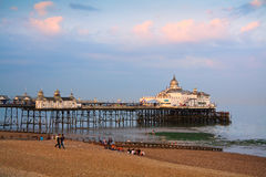 Eastbourne pier. Royalty Free Stock Photo