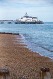 Eastbourne Pier. Photography of Eastbourne Pier, South England, UK Stock Photography